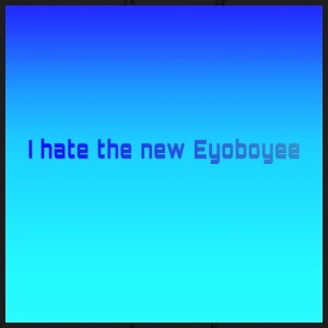 I hate the new Eyoboyee Fade Classic Blue - Men's Hoodie