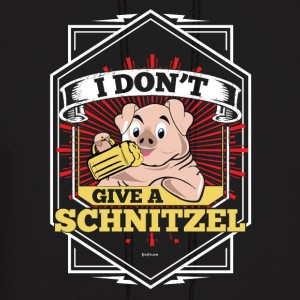 I Don't Give A Schnitzel German Beer Oktoberfest - Men's Hoodie