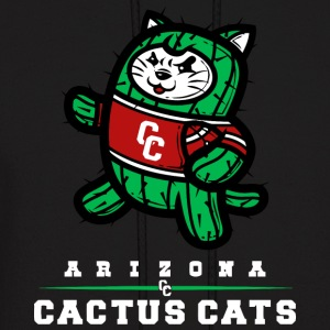 Arizona Cactus Cats - Men's Hoodie
