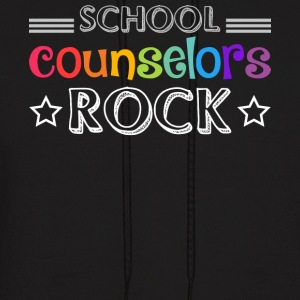 School Counselors Rock T Shirt - Men's Hoodie