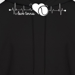 Tennis Heartbeat Shirt - Men's Hoodie