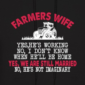 Farmer Wife T Shirt - Men's Hoodie