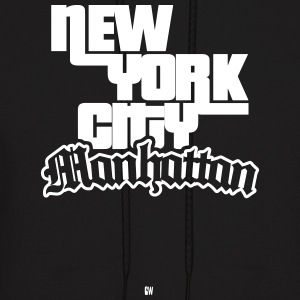 NYC: Manhattan - Men's Hoodie