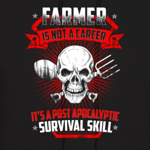 Farmer is not a career T Shirts - Men's Hoodie