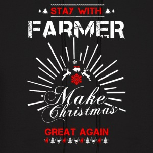 Stay with Farmer T Shirts - Men's Hoodie