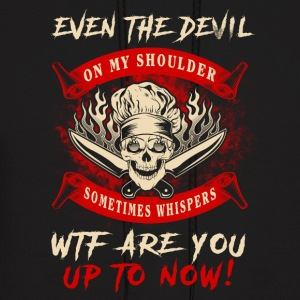 Even the devil Chef T-Shirts - Men's Hoodie