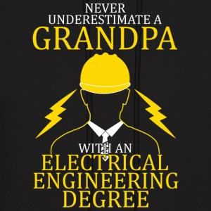Electrical Engineering Grandpa - Men's Hoodie