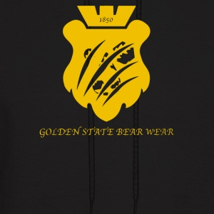 Golden State Bear Wear - Men's Hoodie