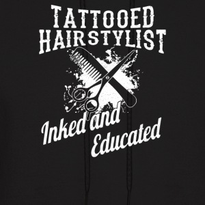 Inked And Educated - Men's Hoodie