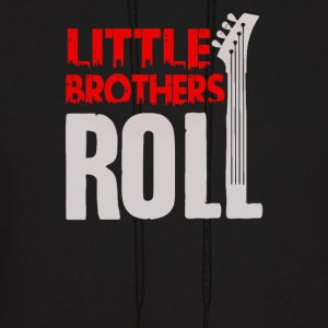 Rock N Roll Siblings Shirts for Big Brother - Men's Hoodie
