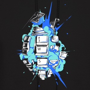 cyber explosion T Shirt - Men's Hoodie