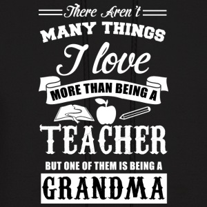 TEACHER GRANDMA - Men's Hoodie