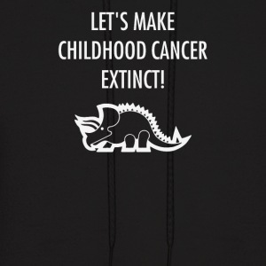 let s make childhood cancer extincet - Men's Hoodie