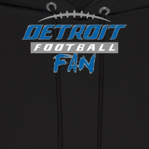 Detroit Football Fan - Men's Hoodie