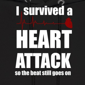 I survived a Heart Attack - Men's Hoodie