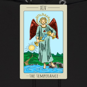 The Temperance Tarot Card Tee Shirt - Men's Hoodie