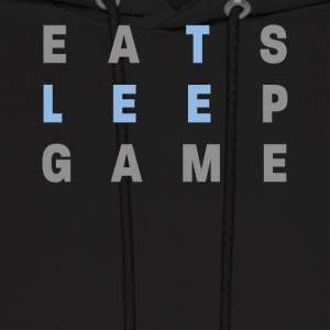 Eat Sleep & Game - Men's Hoodie