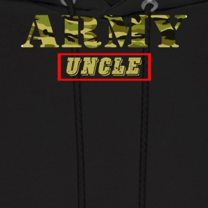 Army Uncle - Proud Army Uncle T-Shirt - Men's Hoodie