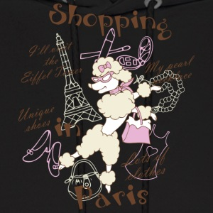 Shopping in Paris - Men's Hoodie