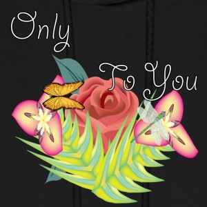 only you - Men's Hoodie