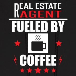 Real Estate Agent Fueled By Coffee - Men's Hoodie