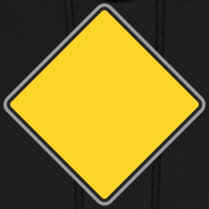 Road_Sign_yellow - Men's Hoodie