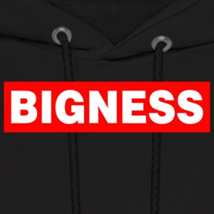 BIGNESS Red - Men's Hoodie