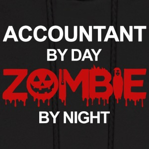 Accountant By Day Zombie By Night T Shirt - Men's Hoodie