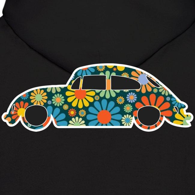 Beetle Car Flower Power