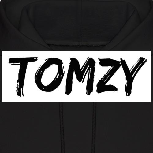 Tomzy Logo Black - Men's Hoodie