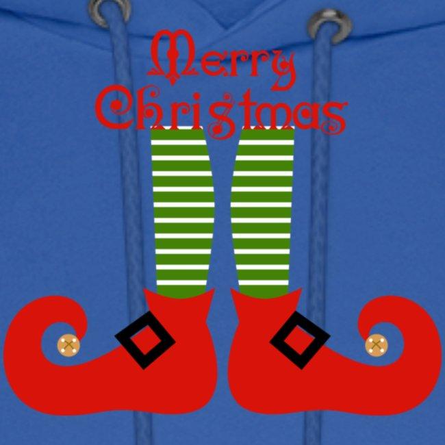 Elf Feet Merry Christmas Design