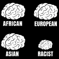 Racist small brain
