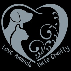 Love animals, hate cruelty
