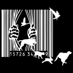 Animal Liberation Hooded sweatshirt