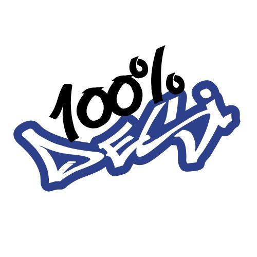 100 Desi - Punjabi T-Shirt - Men's Hoodie