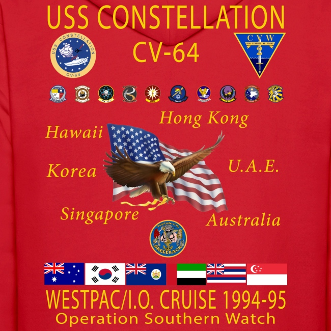 USS CONSTELLATION CV 64