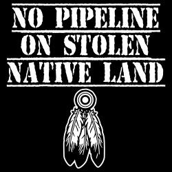 No pipeline on stolen native land