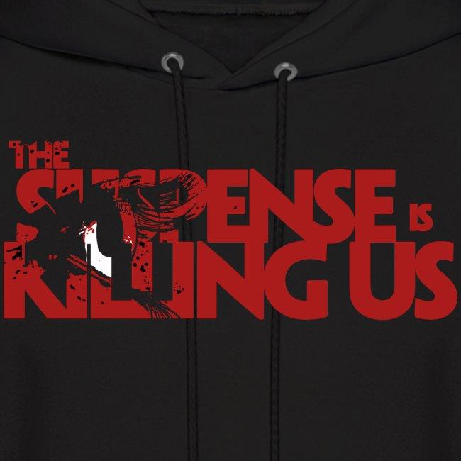 Suspsense Is Killing Us Blood Red Logo