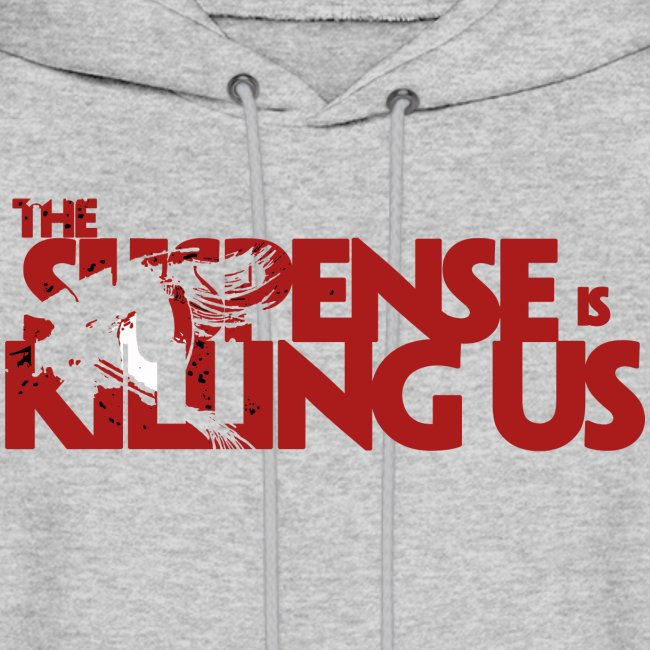 Suspsense Is Killing Us Blood Red Logo