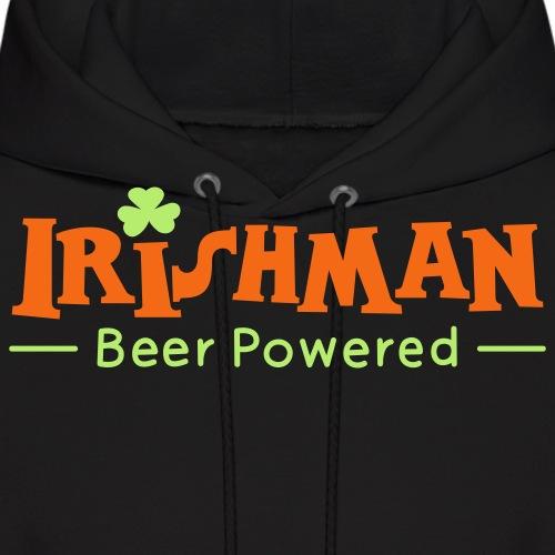 Beer Powered Irish Man - Men's Hoodie