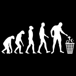 Atheist evolution