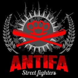 Antifa street fighters