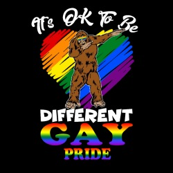 It\'s ok to be different. Gay pride