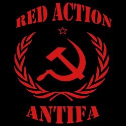Red action antifa