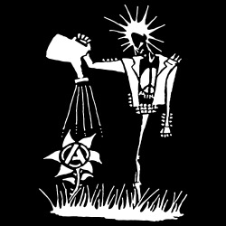 Punk planting the seeds of Anarchy