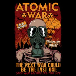 Atomatic war - the next war could be the last one. Stop war before it\'s too late
