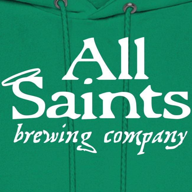 All Saints Logo White