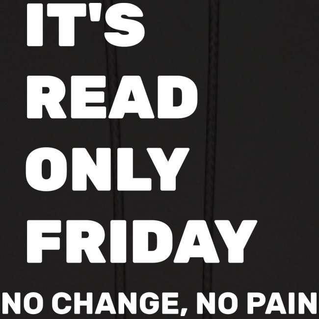 It's Read Only Friday