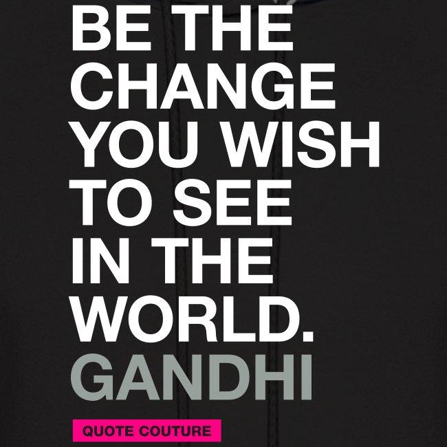 Be the change (men -- bags -- big)