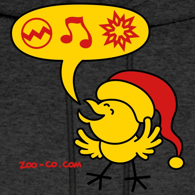 Christmas Chicken making a Wish